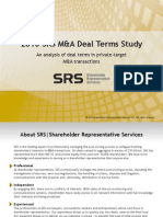 SRS 2010 Deal Points Study