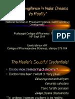 Pharmacovigliance in India