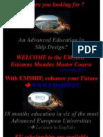 Master Erasmus Mundus Ppt 2