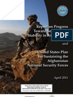 Progress Toward Security and Stability in Afghanistan - Apr 11
