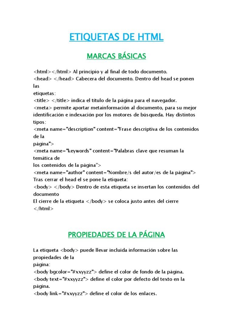 Vistoso Html Establece El Color De Fondo De La Página Ideas ...