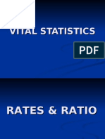 vital health statistics ppt | Census | Infant Mortality