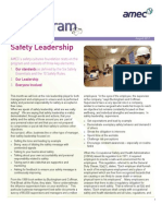 AMEC August 2011 Safety Gram