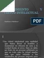 Conocimiento y Virtud Intelectual