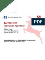PDF Gutschein