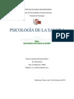 PSICOLOGÍA DE LA SALUD 1 TRASTORNOS ASOCIADOS AL ESTRES