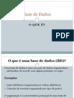 Aula-Base de Dados