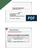 MS 4 MBA Formacao de Precos, Distribuicao e Gestao da Oferta e da Procura