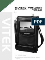 Vtm Lcd351 Manual