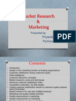 Market Research & Marketing Final