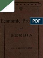 Kosta Stojanovic Economic Problems of Serbia