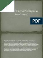 2ª Constituição Portuguesa