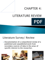 CHAPTER 4 - Literature Review