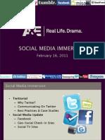 A&E Social Media Tutorial