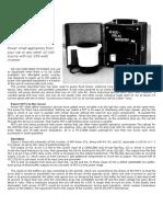 250W Power Inverter