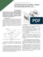 Caracterización de una Microcinta de Forma Analítica y Mediante