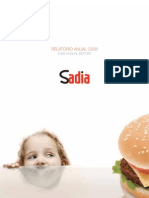 Relatorio Anual 2008 - Sadia