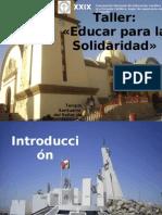 Conf-1- Educar Para La Solid Arid Ad