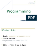 Lecture On C
