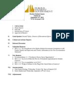 PSG Senate Agenda 09-21-2011