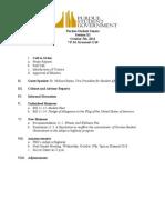 PSG Senate Agenda 10-05-2011