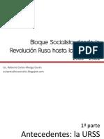 Derrumbe Del Bloque Socialist A