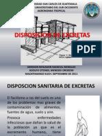 Disposicion de Excretas Exposcion