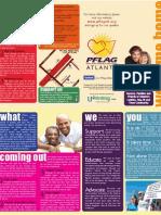 PFLAG Atlanta 2011 Brochure