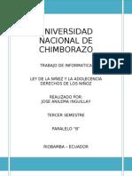 DERECHO DE LOS NIÑOS