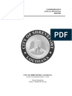 2010 City of Shreveport Comprehensive Financial Report