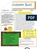 4th Grade Newsletter 101411