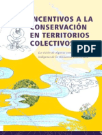 Incentivos a la Conservación en territorios colectivos