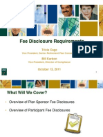 Retirement Plan Fee Disclosures - How to Prepare Now for Upcoming Changes!