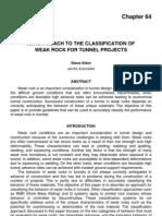 Classifications WeakRock