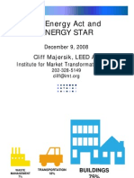 Dc Energy Act and Energy Star