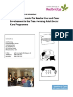 Developing a Model for Involvement in Social Care (Redbridge)