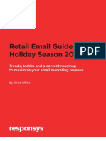 Responsys-2011 Retail Email Guide to the Holiday Season