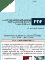 ACCESORIOS UTILIZADOS EN LAS INSTALACIONES ELÉCTRICAS