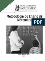 APOSTILA - SÃO CAMILO - MATEMÁTICA