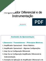 Robson - Apresentação Amp Op Diferencial + De Instrumentação