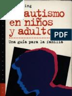 Lorna Wing - El autismo en niños