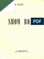 SHOW BOAT Vocal Score