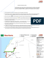 Mauritania Infrastructure MAP