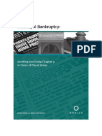 Municipal Bankruptcy- Chapter 9