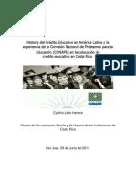 Ensayo Curso de Comunicación Escrita e Historia de las Instituciones de Costa Rica - Cynthia León H - Junio 2011