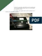 Cómo cambiar la lente de la PS2