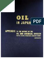 USSBS Report 52, Oil in Japan's War, Appendix