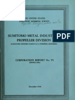 USSBS Report 21, Sumitomo Metals Industries, Propeller Division
