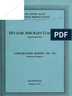 USSBS Report 22, Hitachi Aircraft Company