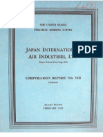 USSBS Report 23, Japanese International Air Industries